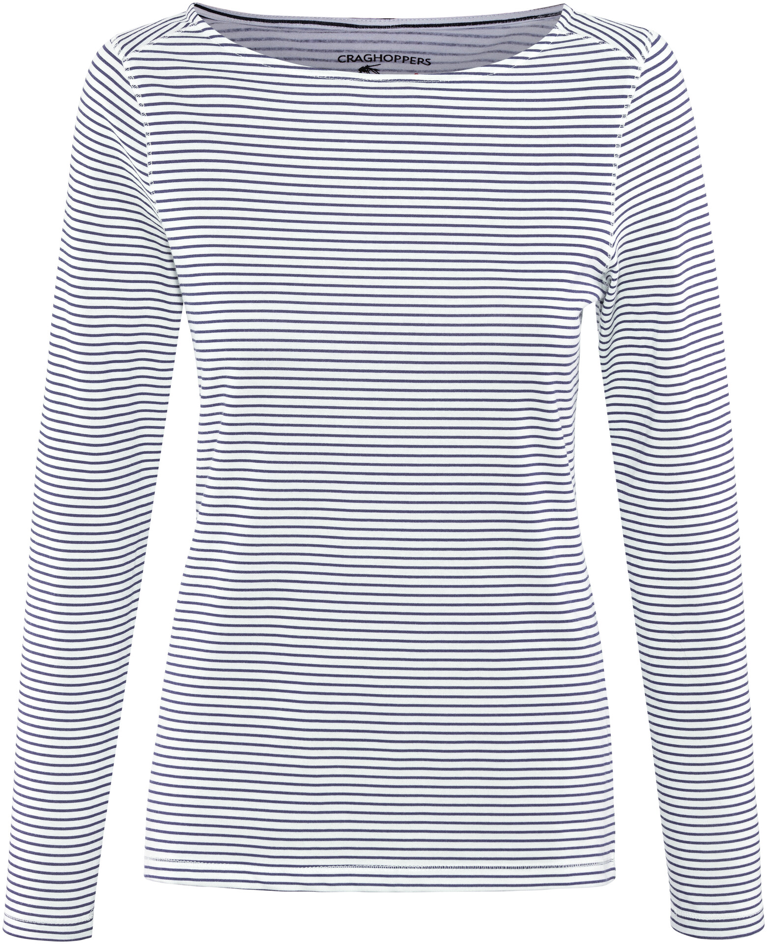 Craghoppers NosiLife Erin II Longsleeved Top Damen blue navy stripe